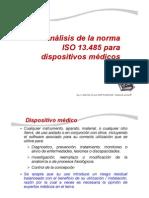 Analisis de la norma ISO 13485 REV 3