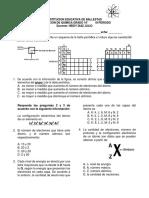 Evaluacion Quimica 10 Periodo III