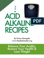 Emma Deangela - The acid  -alkaline recipes
