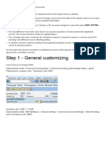 Foreign Currency Revaluation Configuration - SAP Q&A