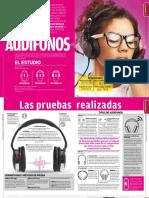 Estudio de calida audífonos
