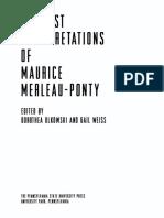 (Re-Reading the Canon) Dorothea Olkowski_ Gail Weiss (Eds.) - Feminist Interpretations of Maurice Merleau-Ponty-Pennsylvania State University Press (2006)