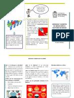 Folleto Proyecto Diabetis Modelo