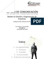 Taller de comunicaciones