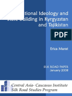 National Ideology and State-building in Kyrgyzstan and Tajikistan-Central Asia-Caucasus Institute and Silk Road Studies Program (2008)