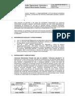 MI-COR-SSO-CRI-EST-14 Estándar Operacional de Vehículos y Equipos Motorizados Pesados (Versión 2)