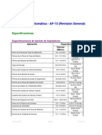 Transmision Automatica AF-13 (Revision General)