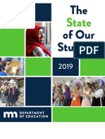 2019 State of Our Students Report