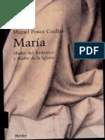 Ponce Cuellar m Maria Madre Del Redentor y Madre de La Iglesia Herder 2001