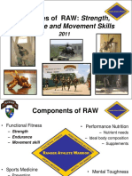 Principles of RAW Training(1)