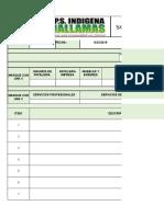 FT-FR-001 Solicitud de Bienes Servicios o Insumos