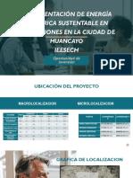 Implementacion de energía eléctrica sustentable en la cuidad de Huancayo