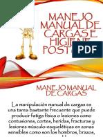 Manejo Manual de Cargas e Higiene Postural
