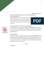 Estructura Del Memorial Demanda Ordinaria Laboral - Omar Flores-1
