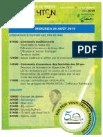 Papaichton 50ans Programme