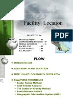 Final Facility Location