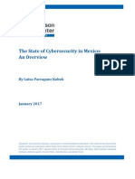 Cybersecurity in Mexico an Overview
