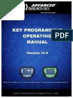 Key Programming Manual 12.9