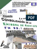 Resumen Ejecutivo Proyecto Radio Iute