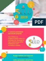 SEED 2019 Program-Orientation