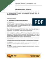 Especificaciones Tecnicas proyecto