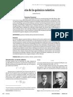 Historia de La Quimica Cuantica