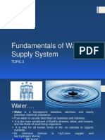 Topic 2 Funda of Water Supply System