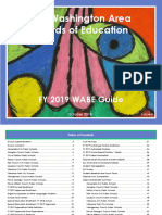 Fy19 Washington Area Boards of Education Annual Guide