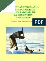 Los fundamentos axio-antropológicos del paradigma de la educación ambiental