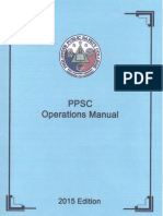 Ppsc Operations Manual