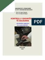 Kontrolli i Bashkesive Te Salduara 2009