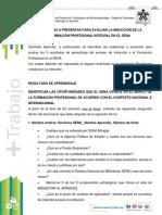 EVIDENCIAS PROCESO DE INDUCCION