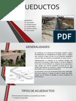 Presentación de Acueductos