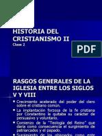 Historia Del Cristianismo II Clase 2