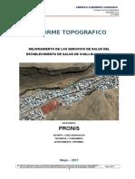 Challhua Informe Topografico