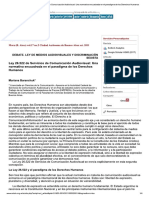 Mora-Ley 26.522 de Servicios de Comunicación...n El Paradigma de Los Derechos Humanos