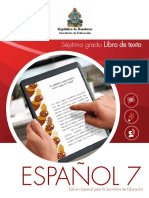 Libro de Texto Español 7 (Alumno) - Secretaría de Educación