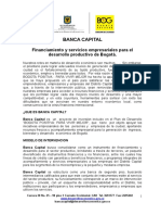 Pro Yec to Banca Capital