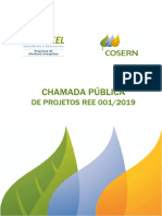Errata Nº 01 Edital Chamada Pública de Projetos Cosern