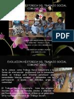 Evolucion Historica Del Trabajo Social Comunitario
