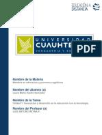 Innovacion y Educación. Castro- Laura