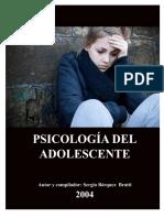 Psicología del Adolescente