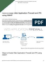 Evading Firewall