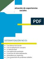 Sistematizacionde Experiencias Sociales (1)