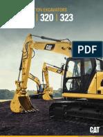 3202C 3232C 320GC Hydraulic Excavator - Family Brochure 02.18