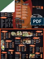 Carta Shine Sushi NEW