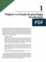 Origem e Evolução Da Psicologia Da Educação