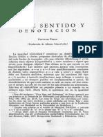6. Sobre Sentido y Denotacion de Gottlob Frege