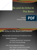237817281 Echo Othello a Comparison of Theme and Structure (1)
