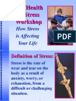 The Health & Stress Workshop